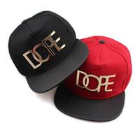 all'ingrosso kpop-Fashion Designer Dope Cayler Sons regolabili cappelli di snapbacks Kpop cotone protezioni di Sun Per delle donne degli uomini di sport Strapback Hip Hop Cap Visiera