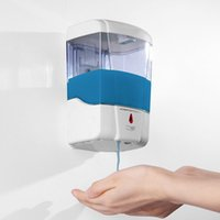 Wholesale 600ML Automatic IR Sensor Soap Dispenser Battery Powered Touch free Kitchen Soap Lotion Pump For Kitchen Bathroom