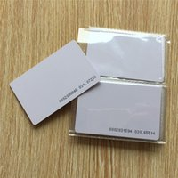 access numbers - 125KHz Proximity Door Control Entry Access Blank White Unique id number pre printed RFID Card ID card EM card
