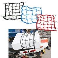 Wholesale Mix color Motorcycle accessories TANKED TKD RACING Hooks Motorcycle luggage net Bungee Cargo Net Helmet Net