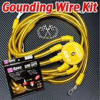 Wholesale Free shippin Universal GOLD D1 SPEC Point Super Earth Ground Wire Kit have stocked ready to ship