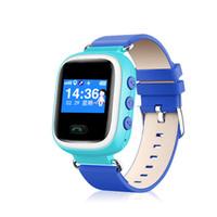 Locator Q60 Montre GPS Smart Kid Safe cadeau Wristwatch SOS Location Finder Enfant Anti Perdu Remote Monitor SmartWatch Pour IOS Android OTH303