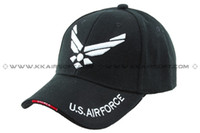 air force ball - U S Military Air Force logo Baseball Cap Black