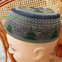 airs perforated - Baoshan Muslim embroidery Mosque of the week cap of the Hui supplies perforated air permeability