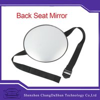 Wholesale New Car Back Seat Mirror Baby Facing Rear Ward View Headrest Mount Mirror Square Safety Baby Kids Monitor hot selling