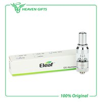 Wholesale Original Eleaf GS16S BDC Tank ml Stainless Steel and Pyrex Glass GS16S Atomizer Cartomizer Ego or thread