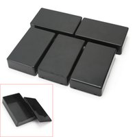 Wholesale 5Pcs Plastic Electronic Project Box Enclosure Instrument Case x60x25mm new arrival