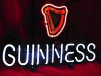 beer stout - Business Custom NEON SIGN board For Irish Guinness Dry Stout Beer REAL GLASS Tube BEER BAR PUB Club Shop Light Signs quot