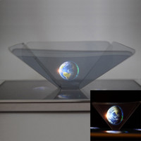 Wholesale New Hot Sell D Holographic Display Pyramid Stand Projector for Smart Cell Phone