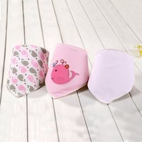 Wholesale 3Pcs Baby Bibs Cute Triangle Bibs amp Burp Cloths Boys Girls Cotton Towel Baby Accessories