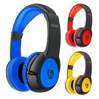 Cheap Latest S99 Hi-FI Bluetooth headset wireless headphone stereo earphone gaming headset music headphones for Mobile phone com PUter MP3 32-EJ