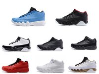 Wholesale Cheap Waterproof Shoes China - Gym Red Pantone Retro IX 9 low basketball shoes for men cheap mens athletic trainer sports footwear 9s sneaker Free shipping China