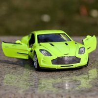 aston martin gifts - Gift for boy cm Aston Martin ONE car souvenir vehicle creative alloy model acousto optic pull back game toy