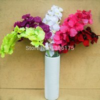 Wholesale Silk Flower Artificial Moth Orchid Butterfly Orchid for new House Home Festival wedding decoration artificial flowers Colors