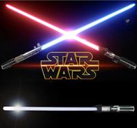 big blue store - Zorn Store Star Wars Anakin to Darth Vader Color Change Lightsaber Toy for Boys Children LED toy sword Flash Sword Red Blue
