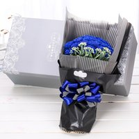 Wholesale Flower Wrapping Material x60cm x24inch Waterproof Strip Flower Wrapping Paper Gift DIY Packaging Paper Roller