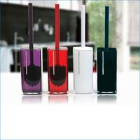 Wholesale Acrylic Toilet Brush Holders decorative toilet brush holder cleaning brushes Toilet Brush Set J15483
