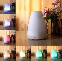 Wholesale 100ml Essential Oil Diffuser Portable Aroma Humidifier Diffuser LED Night Light Ultrasonic Cool Mist Fresh Air Spa Aromatherapy