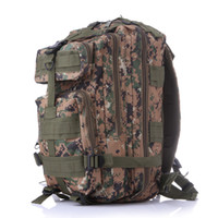 backpack chocolate - Waterproof Nylon Outdoor Sports Camouflage Backpack Mountain Hiking Shoulder Bag P Tactical Backpack For Women and Men