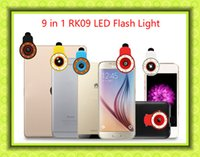 beauty flash sales - Hot sale RK09 Night Using Beauty Selfie flash Sycn Special Effect Phone LED Light Blue for Phone Tablet