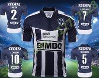 Wholesale 2016 Soccer Jersey Monterrey camisetas de futbol Monterrey sportwear Clothes W GARGANO R FUNES MORI D PABON Maillot footbal shir