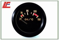 Wholesale Details about quot mm Universal pointer oil temp gauge with oil sender C auto meter