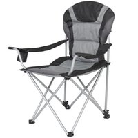 Wholesale Deluxe Padded Reclining Camping Fishing Beach Chair With Portable Carrying Case