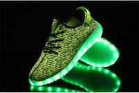 Cheap sport shoes Best LED luminous shoes