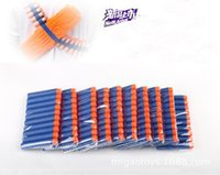Wholesale 10pcs bag Nerf N strike Elite Rampage Retaliator Series Blasters Refill Bullet Darts Nerf Gun N Strike Elite Mega CenturionVarious Color