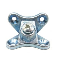 Wholesale alloy furniture fitting creative fastener DIY Wardrobe Cabinet screw household Removable office table hardware connector part