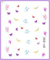 bee nail art - 50 Nail Art Water Transfers Stickers Nail Decals Stickers Water Decal Butterfly Bee Dragon Fly Bird Insect