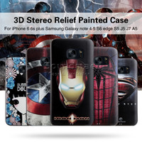 Wholesale Mycolors Samsung NOTE D Stereo Relief case for iphone s plus s Samsung s7 s6 NOTE ONEPLUS OPP BAG