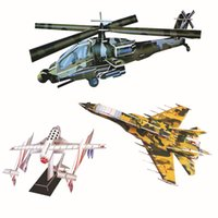 Wholesale Children s DIY D three dimensional puzzle a variety of styles D paper models