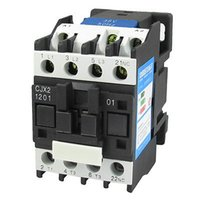 Wholesale CJX2 V A mm DIN Rail Pole NC AC Contactor V Coil