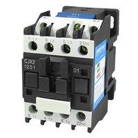 Wholesale CJX2 V A mm DIN Rail Pole NC AC Contactor V Coil