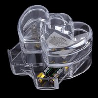 acrylic makeup organizer - 2016 Fashion Clear Acrylic Makeup Organizer Cosmetic Storage Stand Holder Cases Acrylic Makeup Boxes Jewelry Drawer herat shape