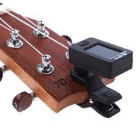 Wholesale Degree Rotatable Clip Mini Digital LCD Clip on Tuner for Chromatic Guitar Bass Violin Ukulele C Ukulele D JOYO JT