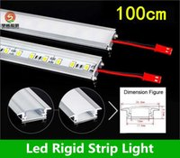 Wholesale Hot sale cm Led Bar Light U Type Aluminum Alloy Slot W Led Rigid Strips Light Warm Pure Cool White SMD5630 LED Tube