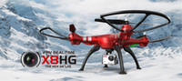 Wholesale Syma X8HG Wifi FPV With P MP Camera High Hold Mode G CH Axis RC Quadcopter RTF Automatic Air Pressure High X8HW