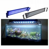Wholesale 51cm W LED Strip Aquarium Lights for Fish White Blue Aquarium Lights Reef Tank for Indoor Lighting Decorations
