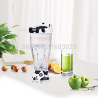 battery operated mixers - 1 Piece New Fashionabale oz Mixing Cup Skinny Moo Mixer Battery operated Chocolate Milk Mixer Novelty Household