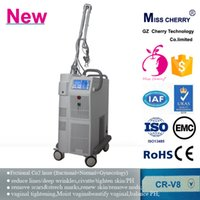beauty iso - Hot sale fractional CO2 laser vaginal tightening pore scar removal Beauty Machine CR V8 with ISO CE certificate