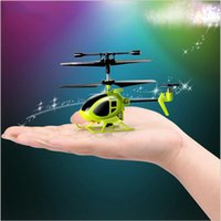 Wholesale SYMA Syma S6 Mini RC Helicopter Toys Remote Control Aircraft Children Hand Helicopter Drone Kid CH RC Toys