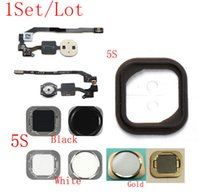 adhesive rubber gasket - S511B01AM Set by AM Top Quality Guarantee for iPhone S Home Button amp Flex Cable amp Rubber Gasket Adhesive Sticker