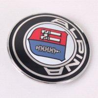 Wholesale 82mm Car Logo Emblem Badge for Alpina with Pins Part No
