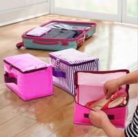 Wholesale cheap Travel Insert Handbag Purse Large liner Tote Bags Organizer Bag Storage Bags Amazing make up bags