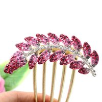 Wholesale Crystal Rhinestone Hairclip Human Skeleton Hands styles Hair Clip Bride Headwear For Party Feast Banquet Wedding