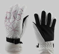 Wholesale 2016 winter glove women and men winter glove ski glove water proof glove