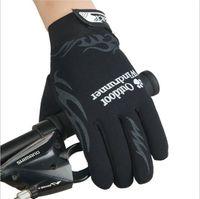 Outdoor alpinisme équitation le premier choix pour l'ensemble du doigt sports loisirs gants et le printemps et l'automne long doigt gants