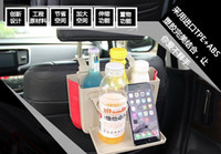 Wholesale Foldable Car Back Seat Table Tray Stand Food Cup Drink Bottle Rack Holder Multifunctional cup holder